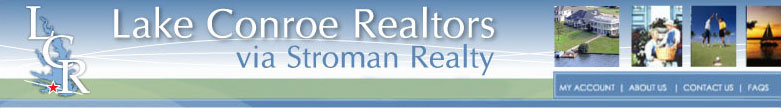 Lake Conroe Realtors via Stroman Realty